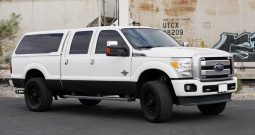 2015 Ford F350 Platinum