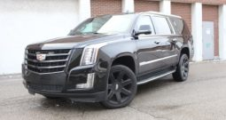 2017 Black Cadillac Escalade